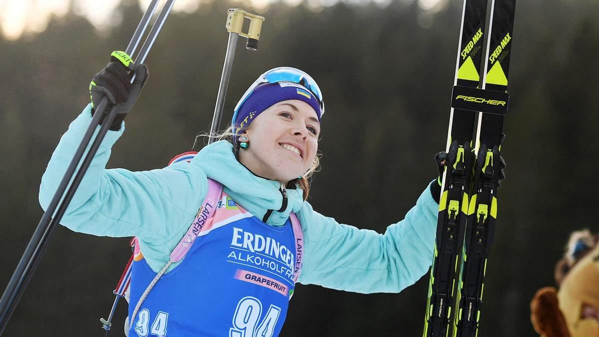 Лобовое столкновение: звездная украинская биатлонистка получила травму на тренировке