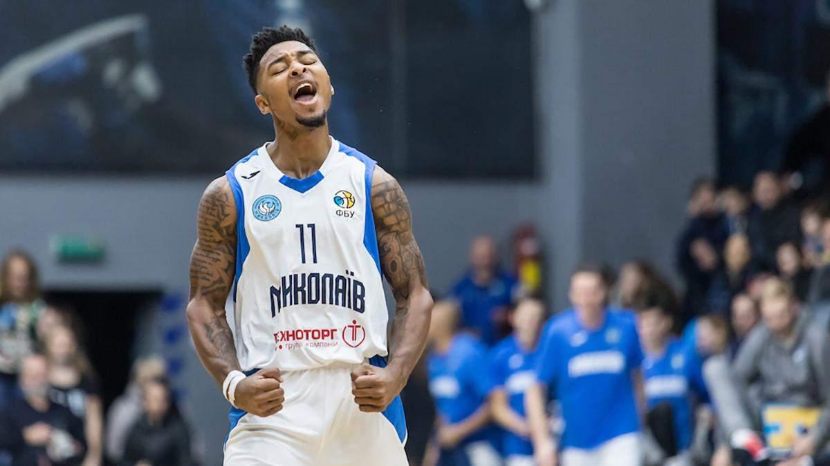 """Баскетболіст """"Миколаєва"""" встановив новий рекорд результативності сезону, набравши 48 очок: відео"""