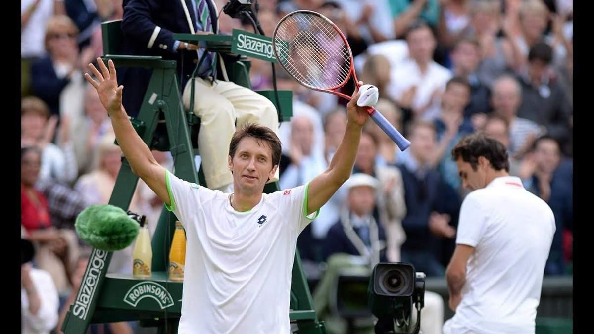 Победа Стаховского над Федерером вошла в крупнейшие сенсации десятилетия на Уимблдоне