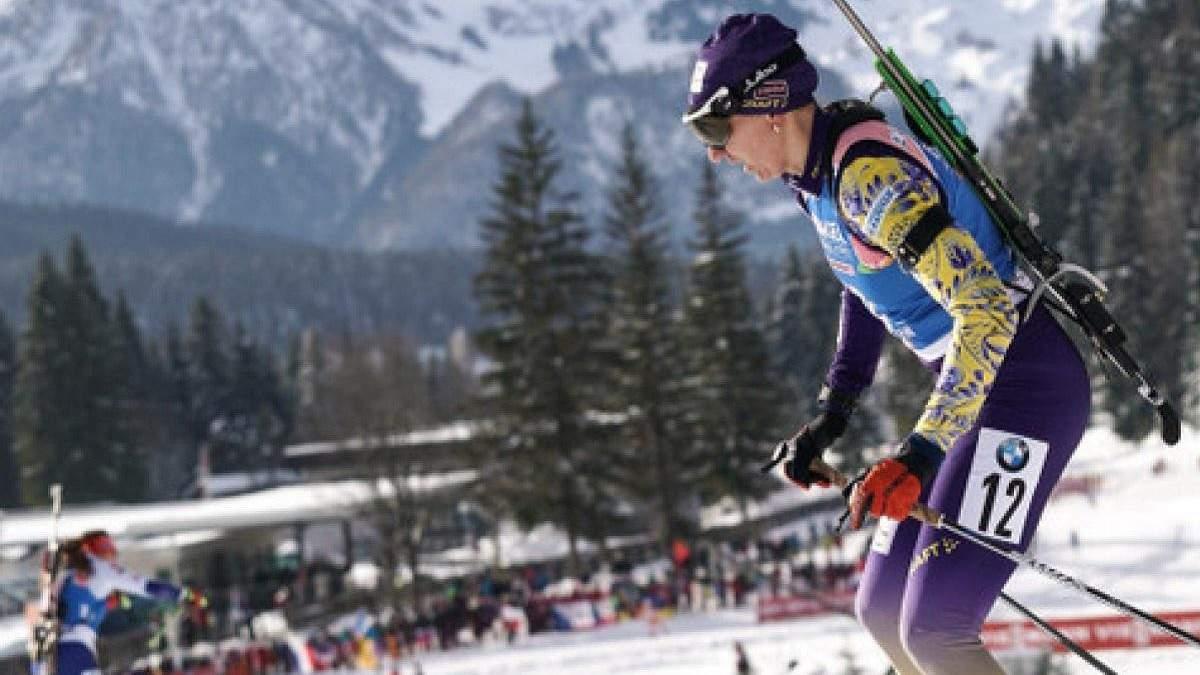 Украинка Пидгрушная победила на чемпионате Австрии по биатлону