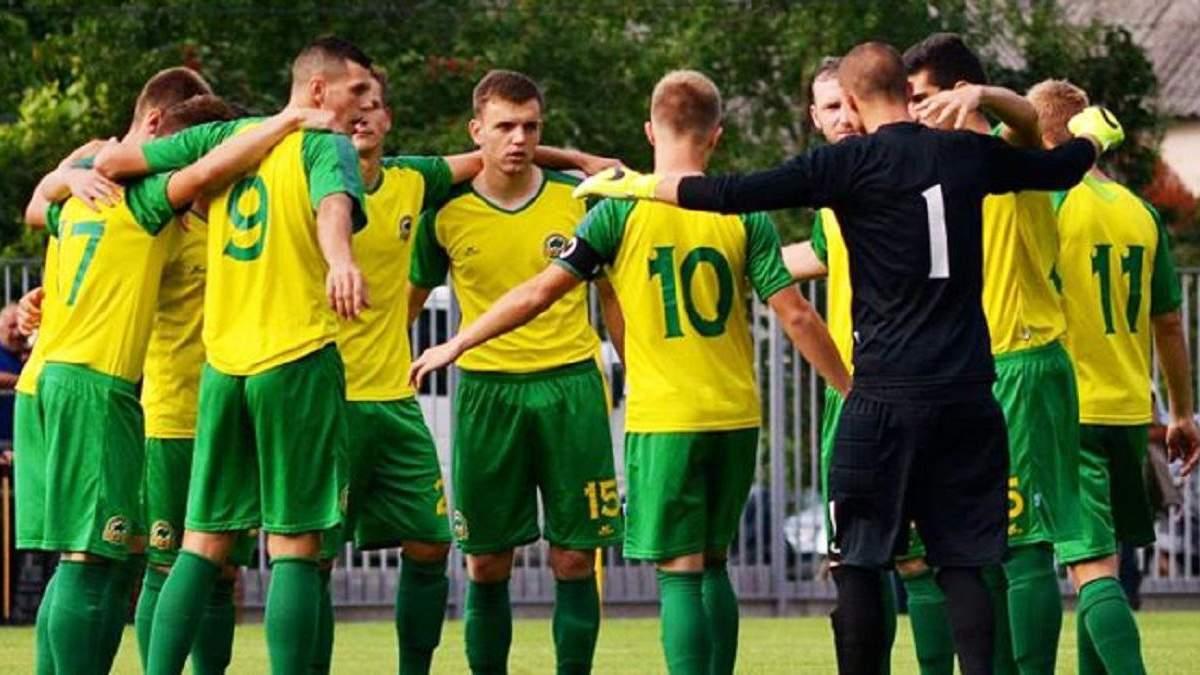Лидер чемпионата Украины нашел финансирование и продолжит борьбу за повышение