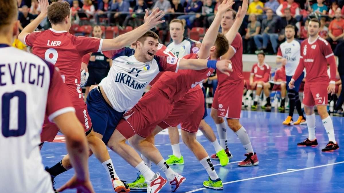 Трансляция матча сборной Украины по гандболу на Евро-2020