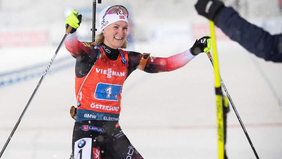 Ольсбу-Рейселанн виграла першу гонку у новому році, Юлія Джима – 16-та