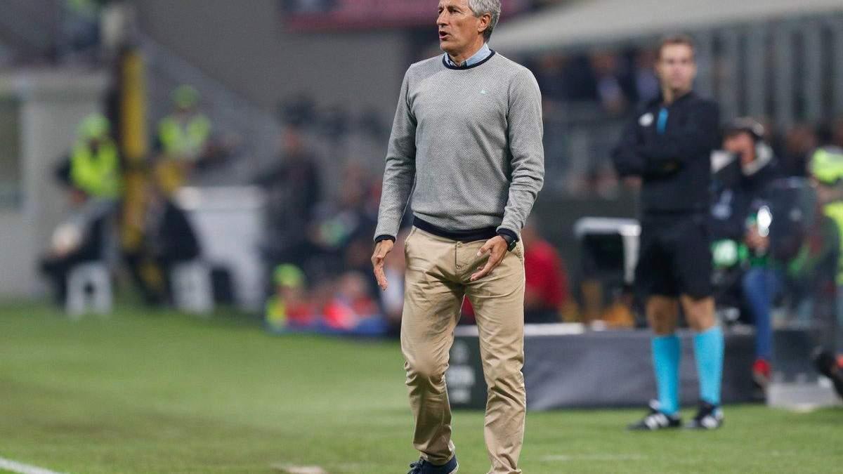 """Офіційно: """"Барселона"""" призначила Кіке Сетьєна новим головним тренером"""
