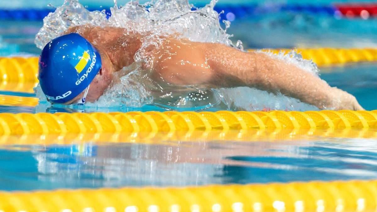 Украинскому пловцу не хватило 0,02 секунды, чтобы победить на турнире в Китае