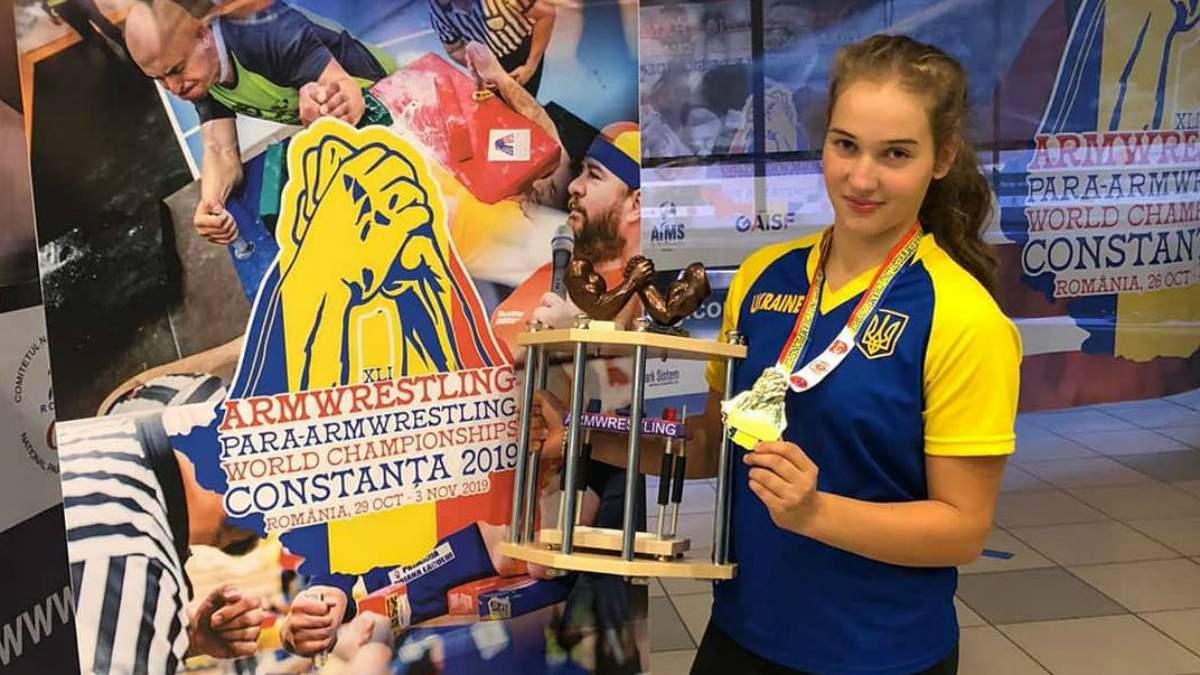14-річна чемпіонка світу з армреслінгу Лехман про стереотипи, боротьбу з хлопцями та цілі