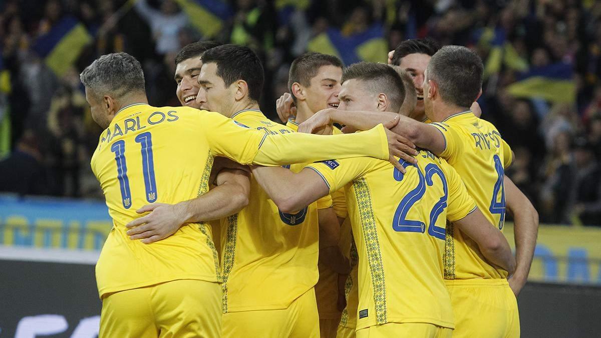 Сборная Украины определилась с тренировочной базой на Евро-2020