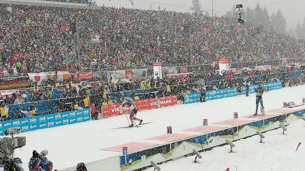 Біатлон: українці фінішували восьмими в естафеті в Рупольдингу, перемога збірної Франції