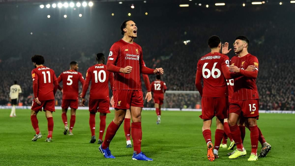 """""""Ливерпуль"""" победил """"Манчестер Юнайтед"""": новые рекорды клуба"""