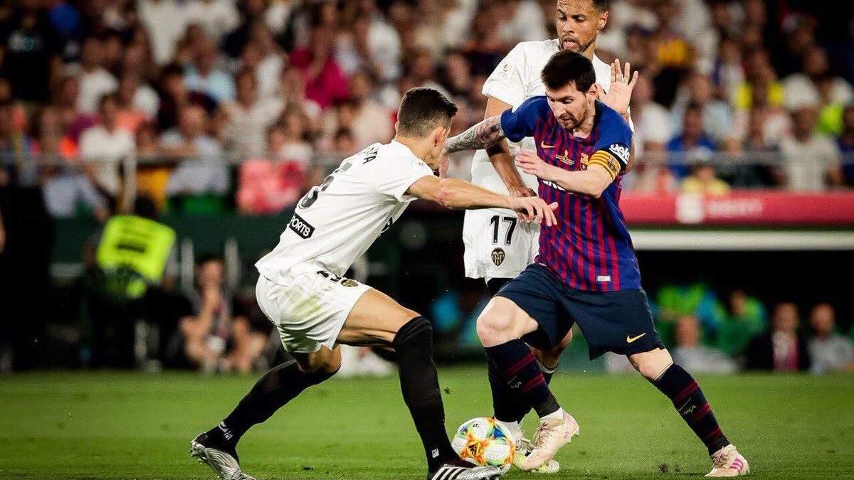 Валенсия – Барселона – обзор, видео голов матча 25.01.2020