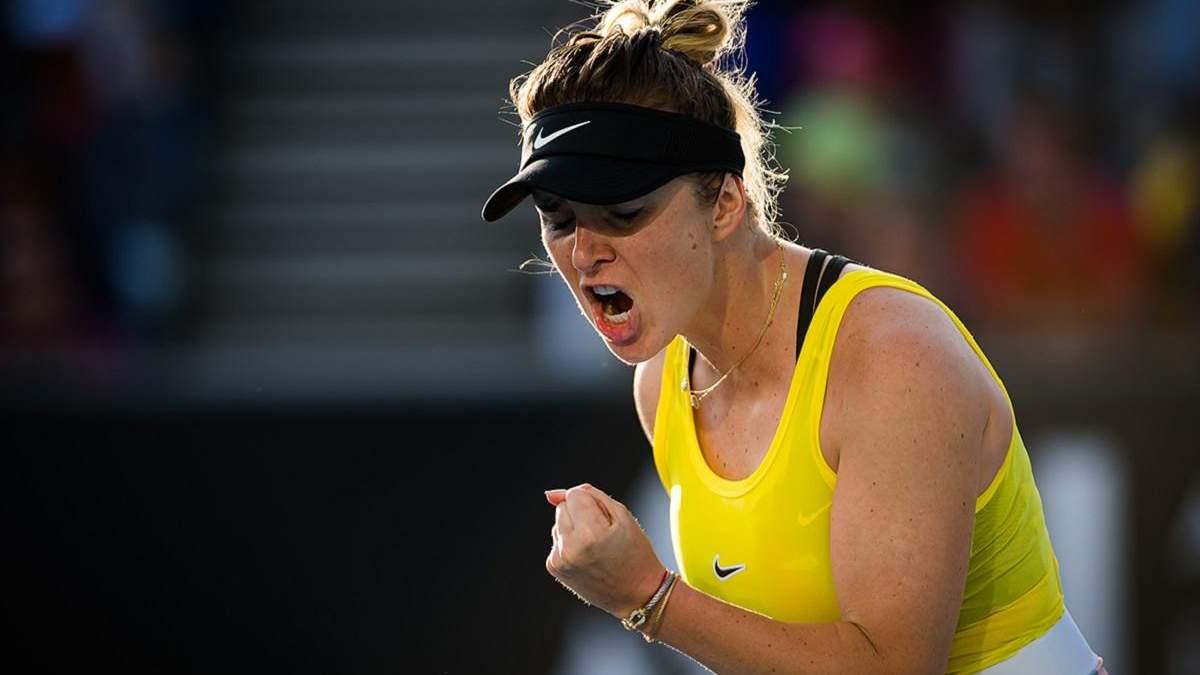 Свитолина может стать четвертой ракеткой мира после Australian Open