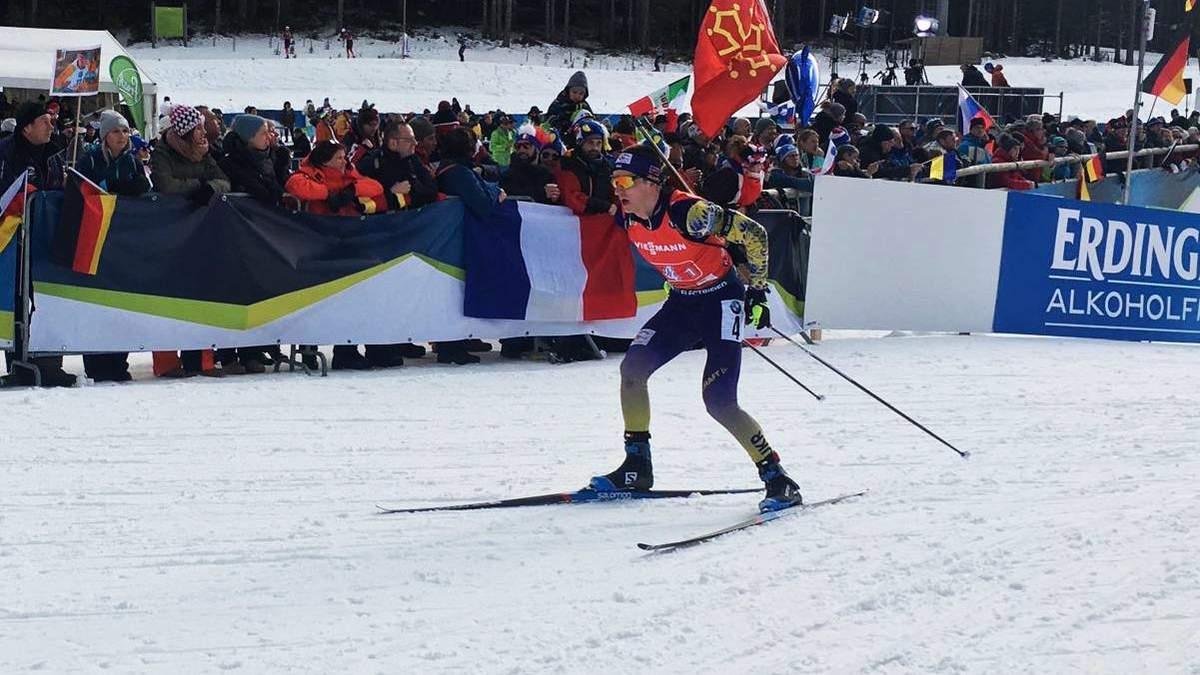 Биатлон: Украина – 5-я в эстафете, победа Франции