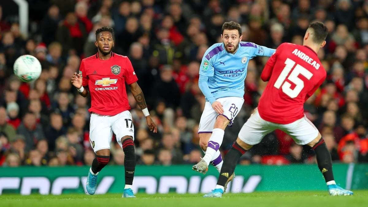 Манчестер Сіті – Манчестер Юнайтед: прогноз букмекерів на Кубок англійської ліги
