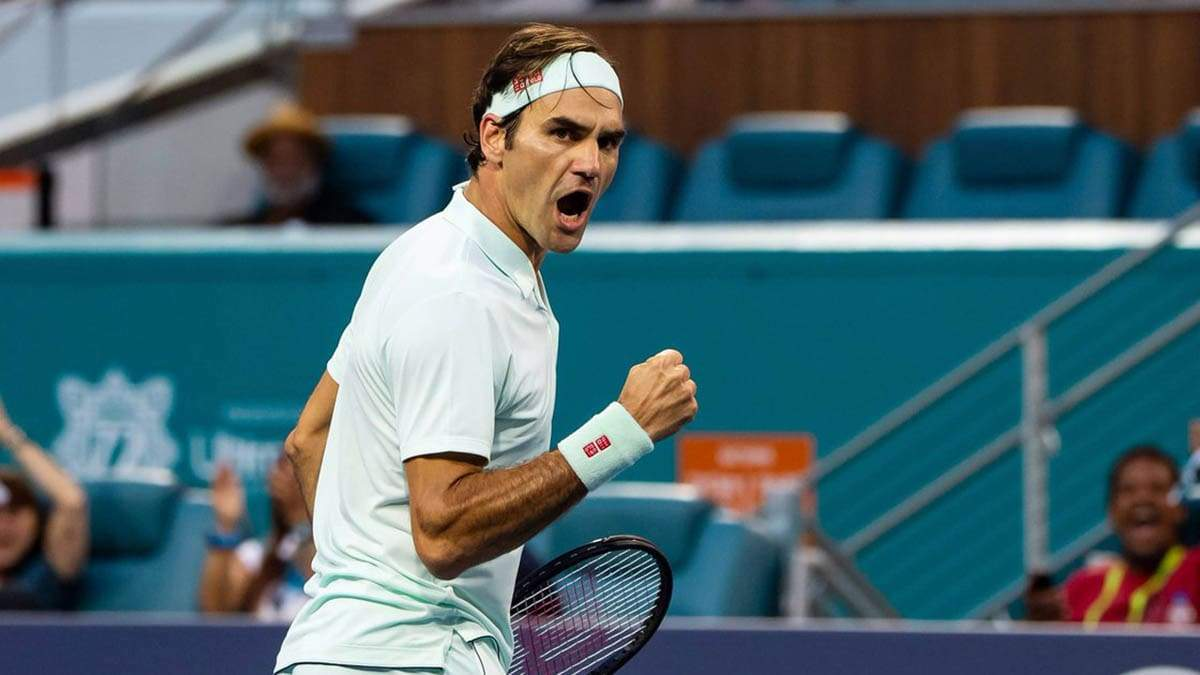 Федерер оштрафован на 3 тысячи долларов за нецензурное выражение на Australian Open