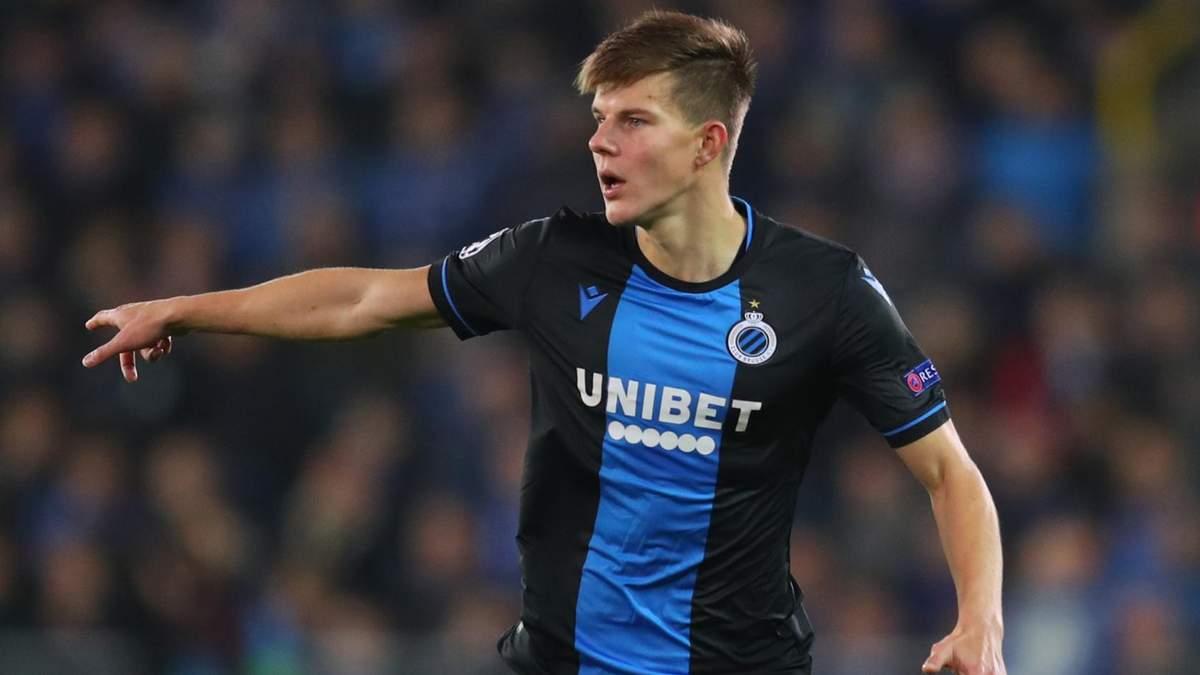 Украинец Соболь – второй в рейтинге самых полезных игроков бельгийского клуба