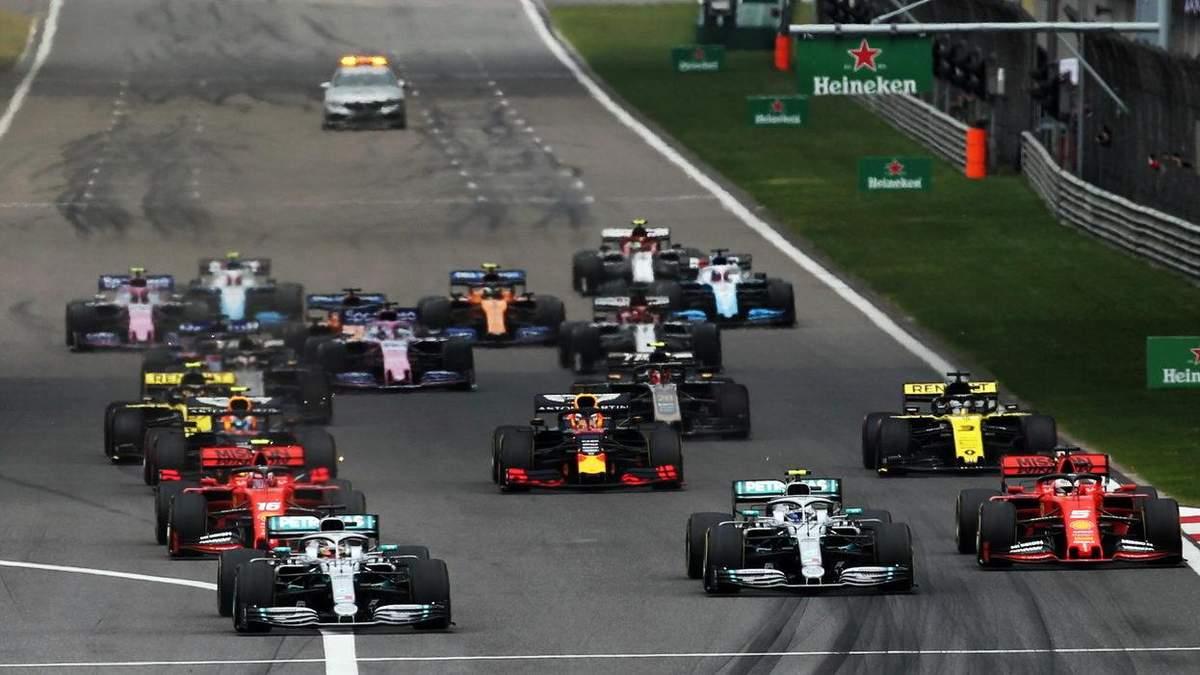 Формула-1 офіційно відклала Гран-прі Китаю через коронавірус: деталі