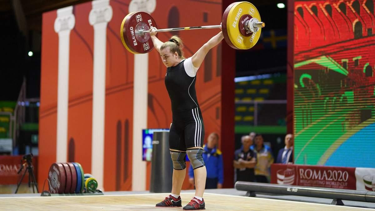Украинская тяжелоатлетка победила на Кубке мира