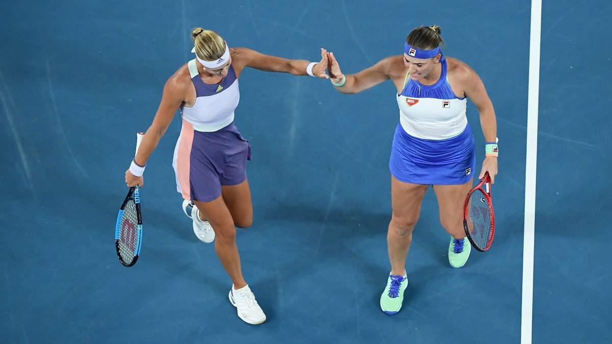 Бабош та Младеновіч перемогли на Australian Open у жіночому парному турнірі