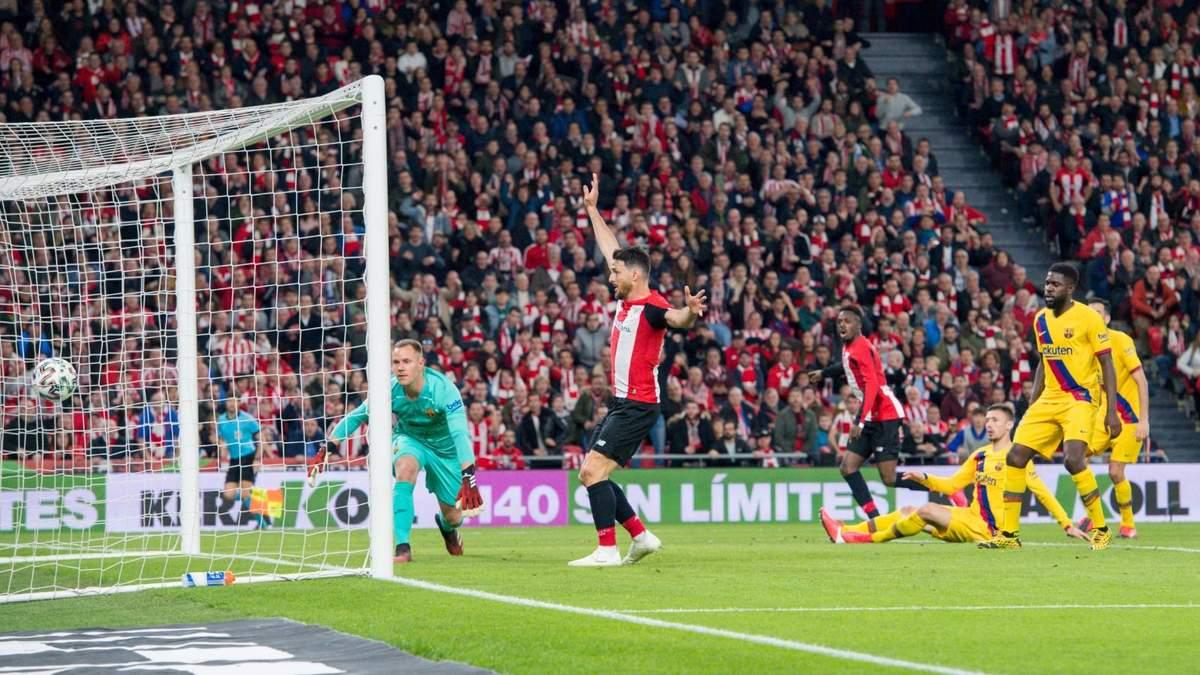 Атлетік – Барселона – огляд, відео голів матчу 06.02.2020