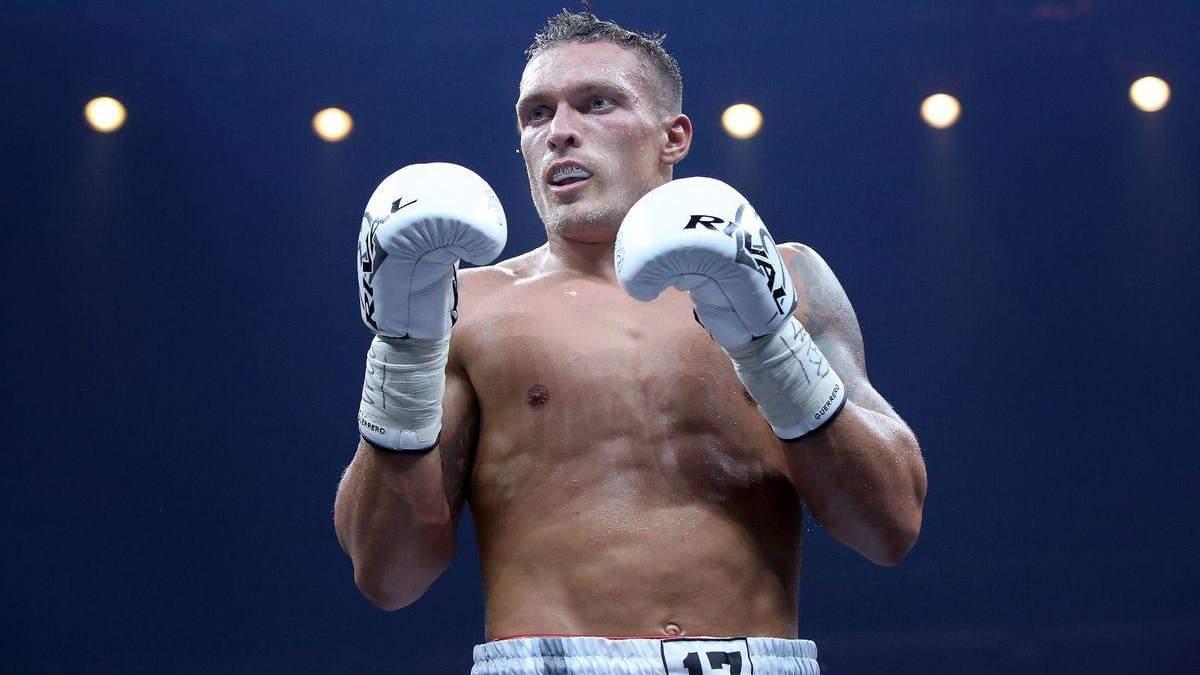 Усик – Чісора – дата і місце бою, титул WBA, IBF і WBO