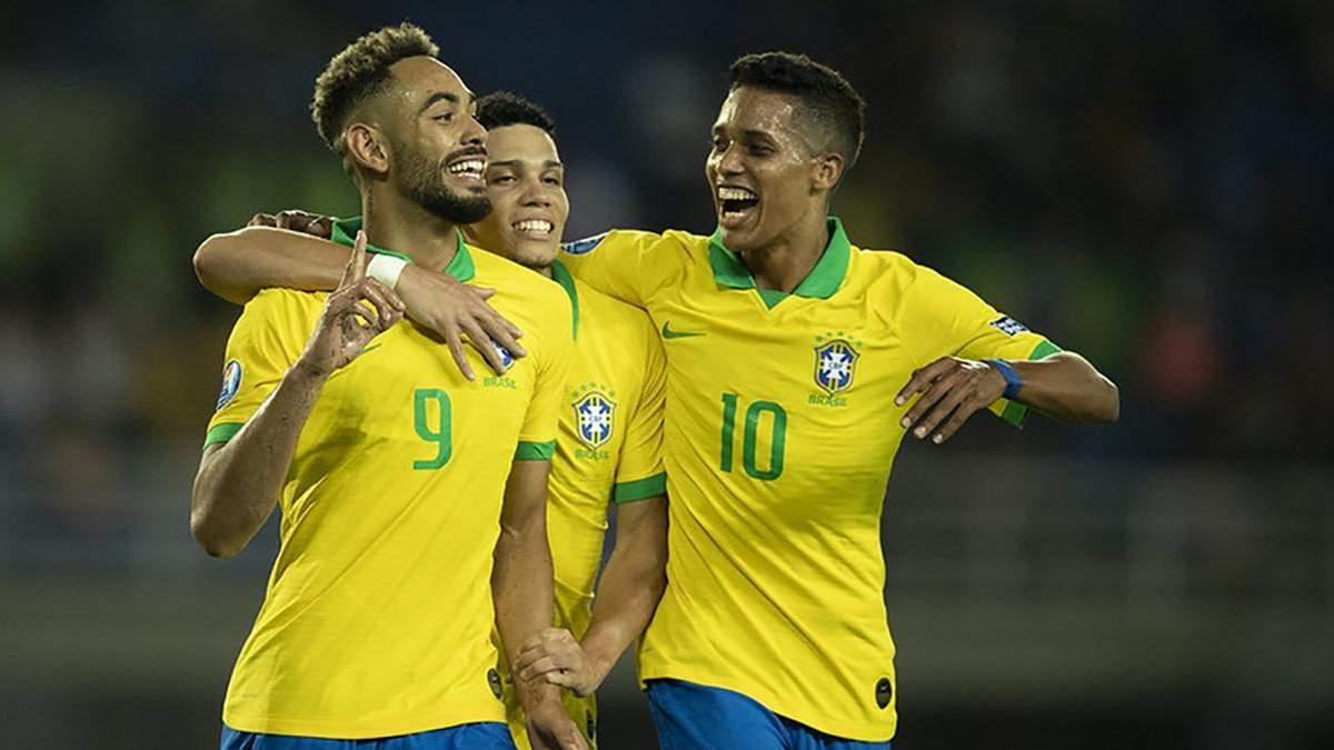 Збірна Бразилії виступить на Олімпіаді-2020