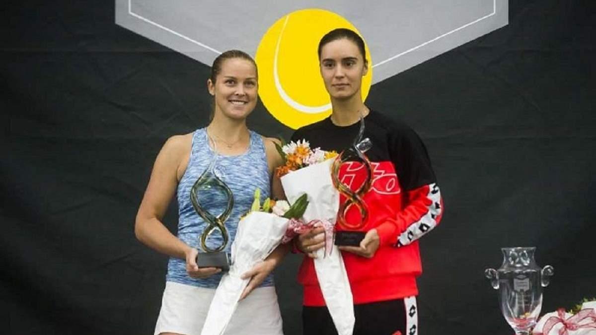 Ангеліна Калініна (праворуч)