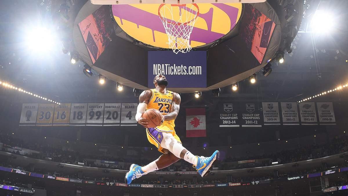 ЛеБрон Джеймс обошел Майкла Джордана по количеству реализованных штрафных бросков в НБА