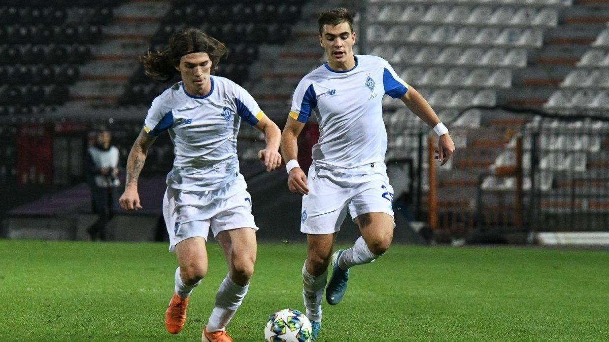 Динамо Київ U-19 – Динамо Загреб U-19 результат