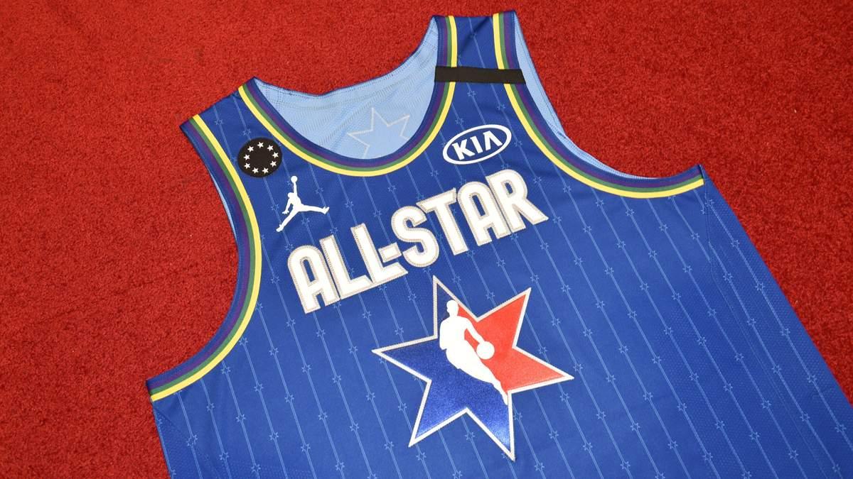 Форма команди на Матч всіх зірок НБА