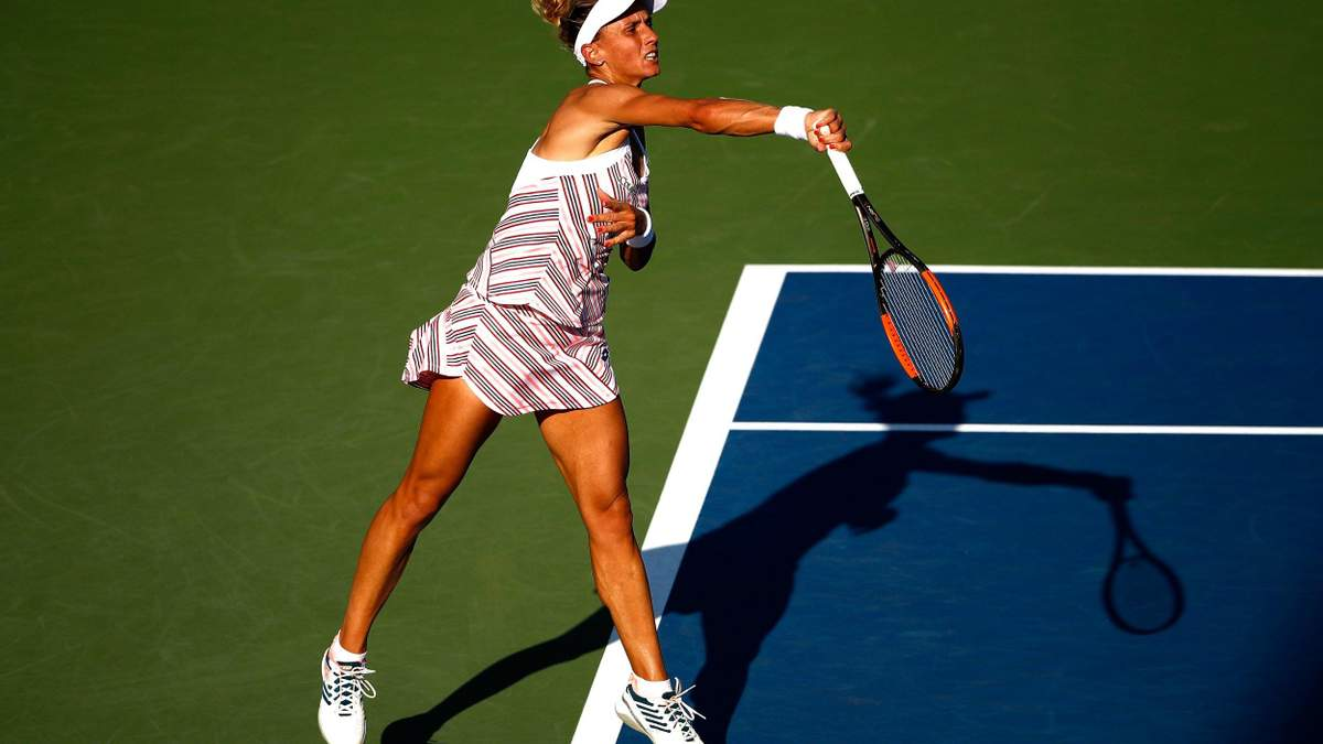 Украинка Цуренко досадно проиграла в финале теннисного турнира