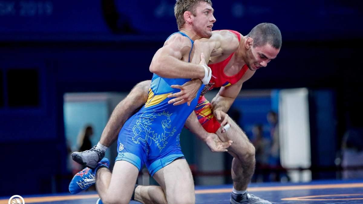 Украина выиграла 13 медалей на чемпионате Европы по борьбе и заняла высокое командное место