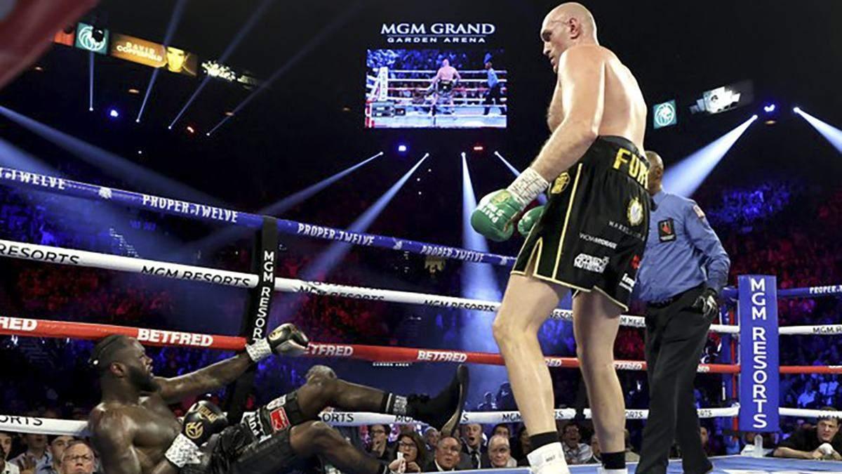 Фьюри техническим нокаутом победил Уайлдера и стал новым чемпионом WBC