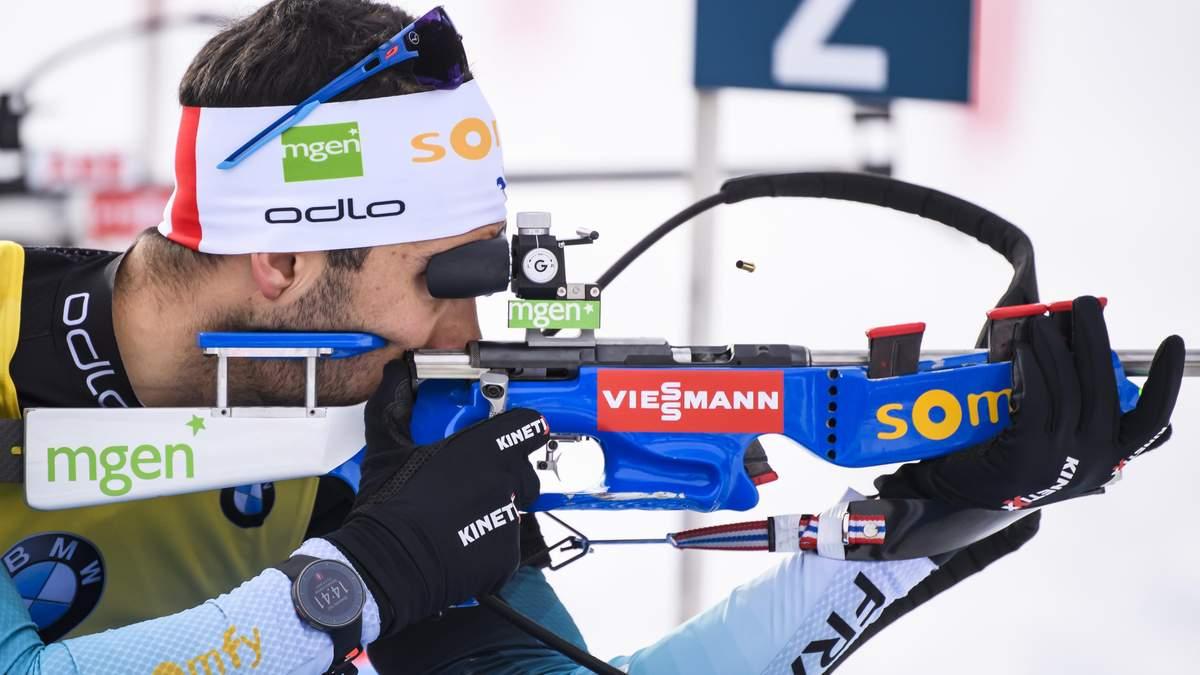 Чемпіонат світу з біатлону: Фуркад завоював золото і виграв малий Кришталевий глобус