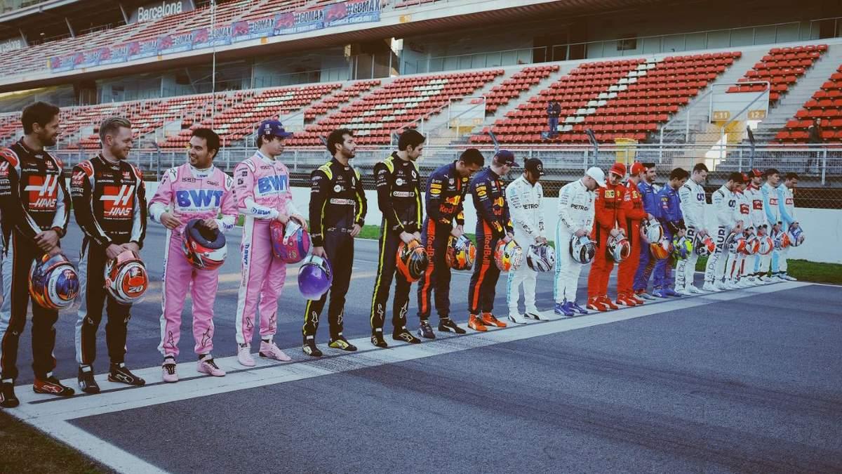Пілоти команд Формули-1