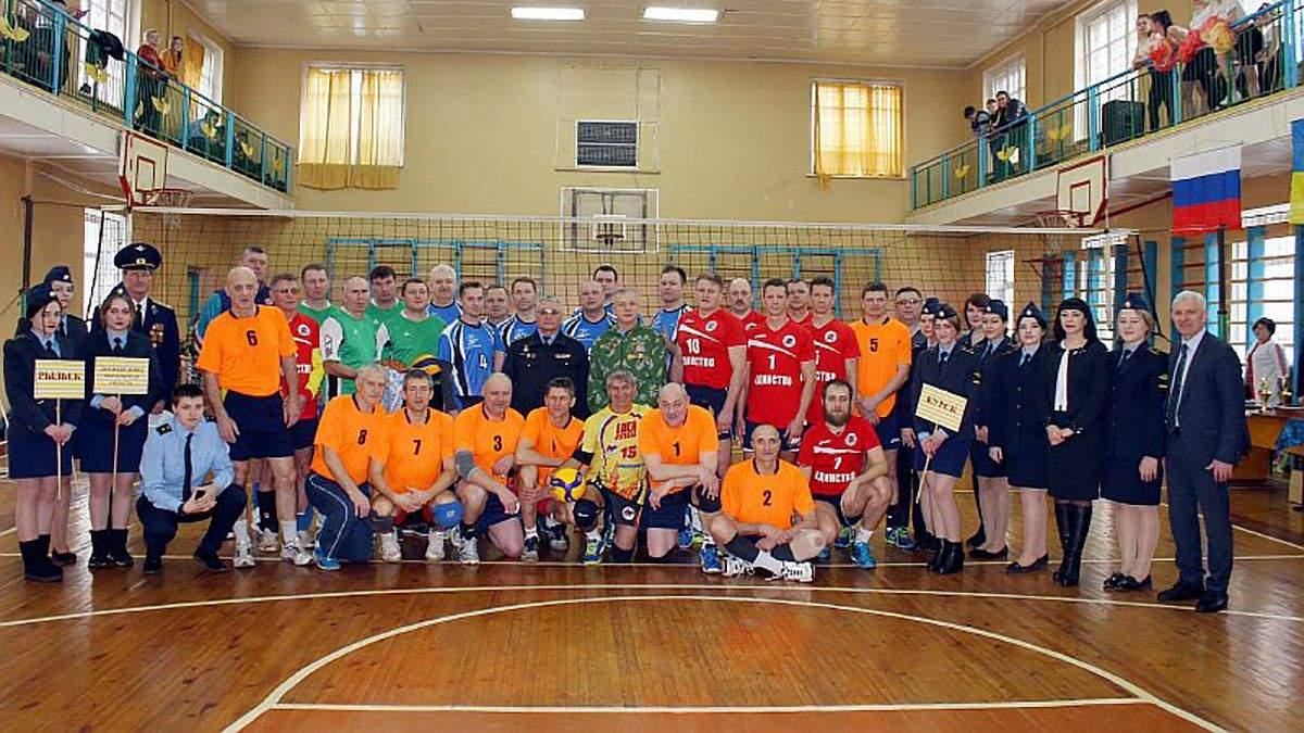 Українські волейболісти на турнірі в Росії