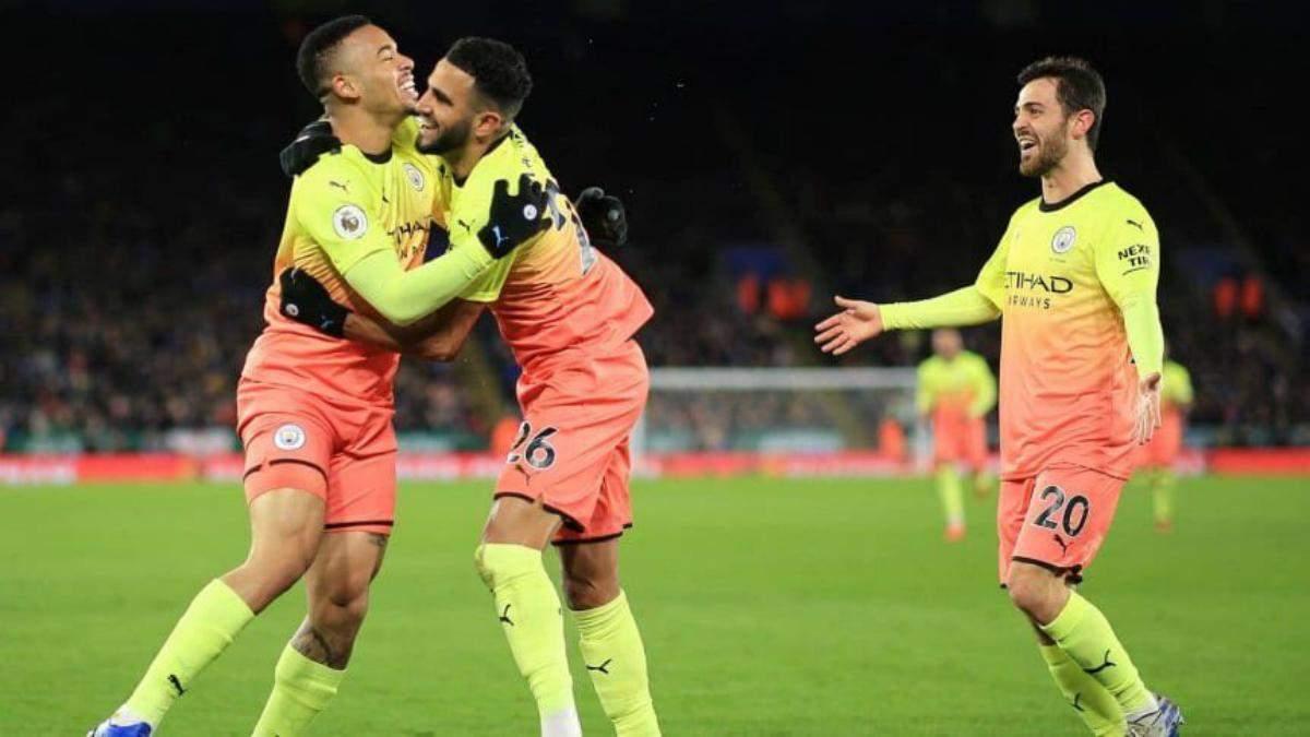 Лестер – Манчестер Сіті: огляд, рахунок, відео голів матч 22.02.2020