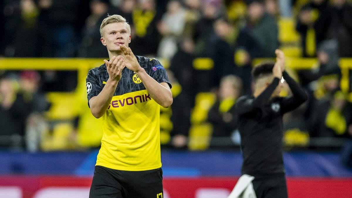 Холанд стал лучшим игроком недели в Лиге чемпионов – он забил дважды в ворота ПСЖ: видео