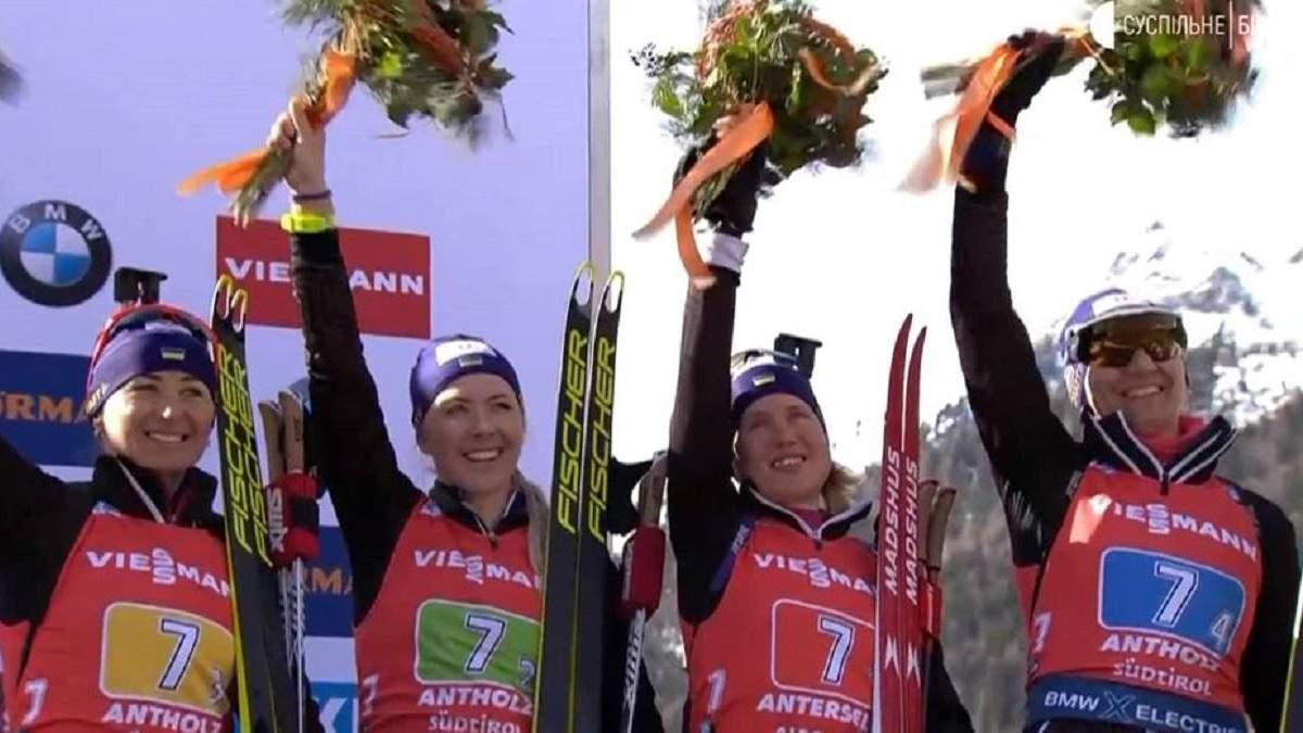 Україна – бронзовий призер чемпіонату світу-2020 з біатлону