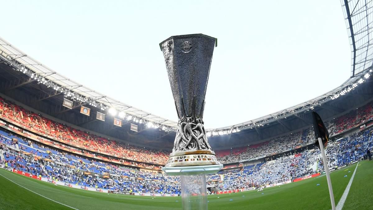 Результати матчів та відео голів 1/16 фіналу Ліги Європи