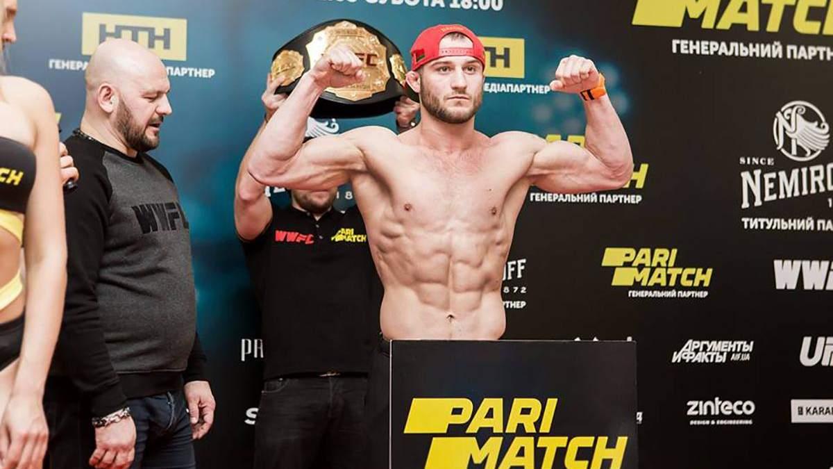Боєць MMA одним ударом зламав суперникові хребет: відео