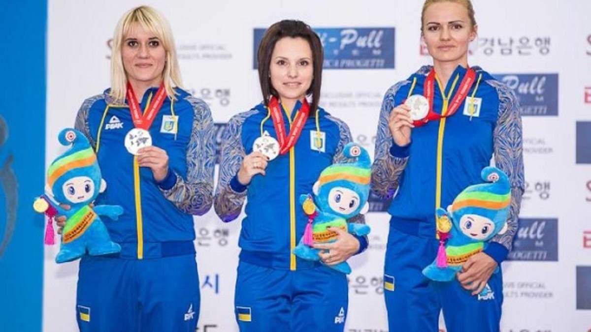 Жіноча збірна України зі стрільби