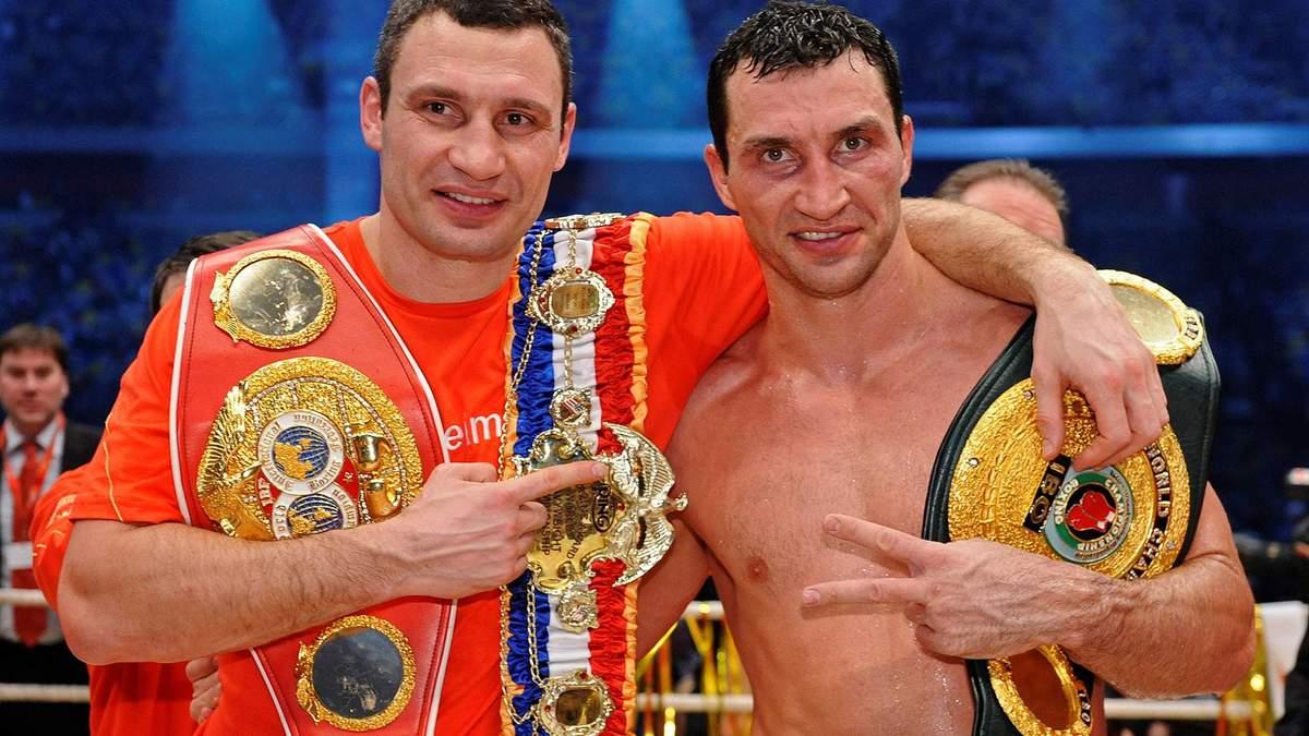 Поєдинки за участю братів Кличків увійшли в топ-25 найкращих боїв у історії суперважкої ваги