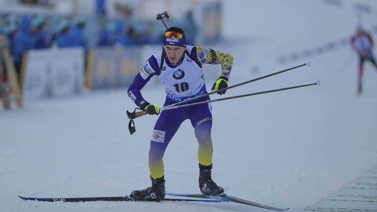 Чемпіонат Європи з біатлону: Підручний виграв бронзову медаль