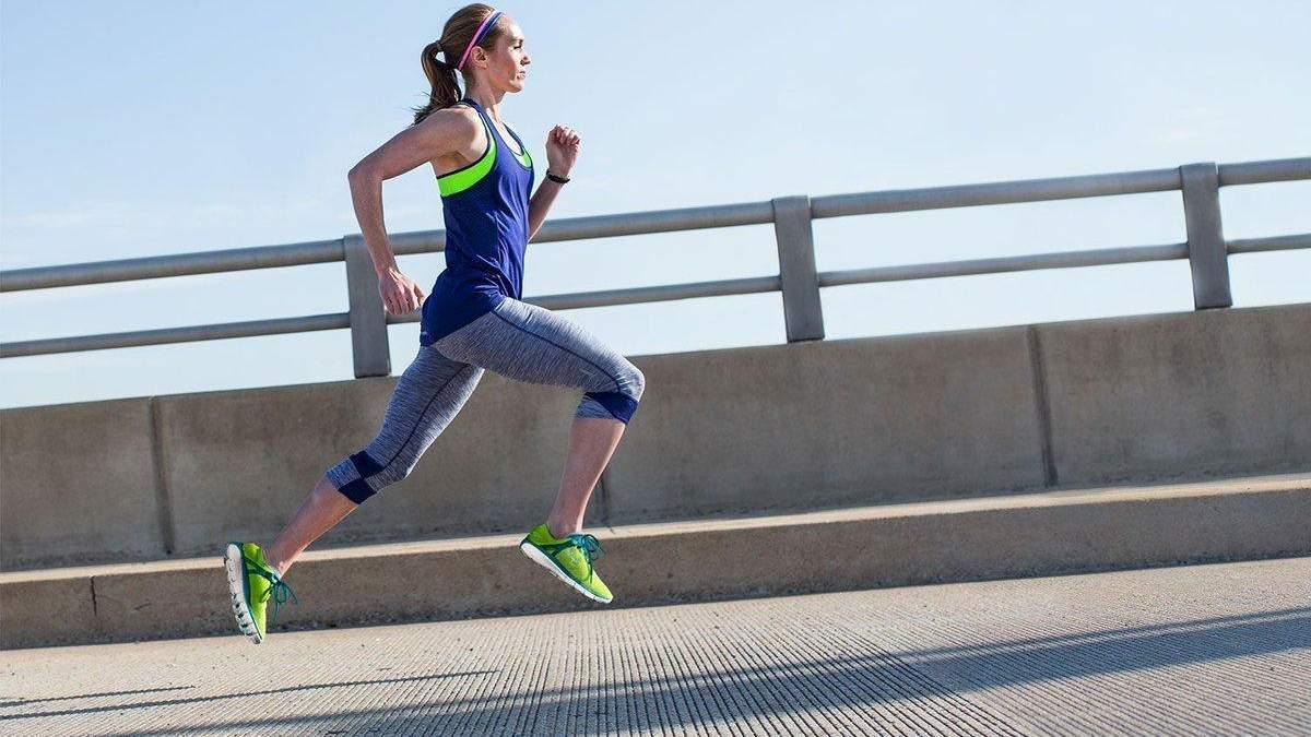 Біг – підвищує витривалість організму