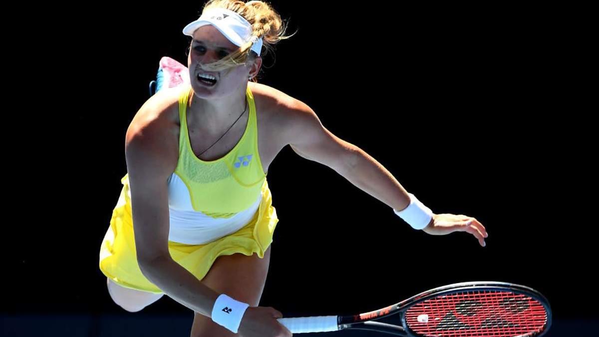Украинка Ястремская обидно уступила именитой испанке на престижном теннисном турнире