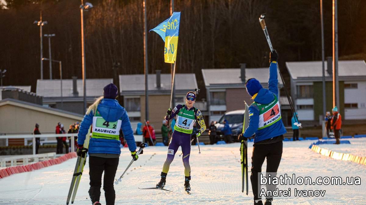Украина пока не получила золотые медали чемпионата Европы по биатлону из-за протеста Беларуси