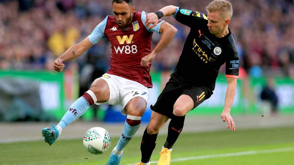 Англійські ЗМІ розхвалили українця Зінченка за гру у фіналі Кубка англійської ліги