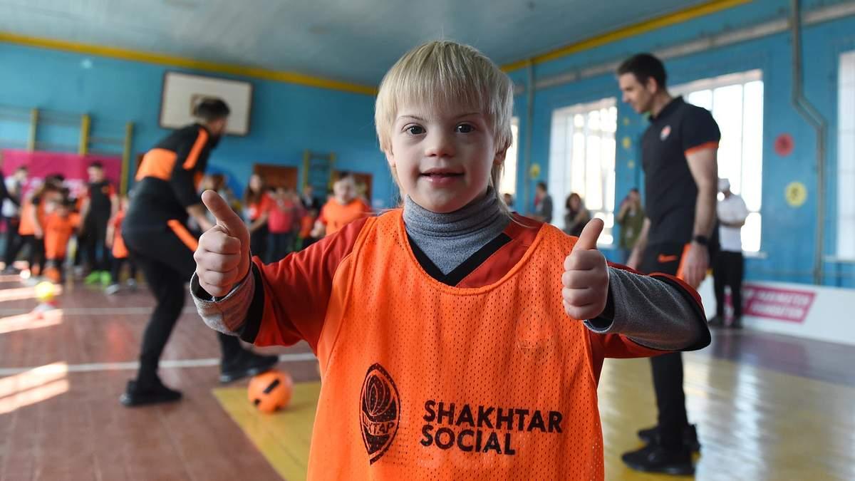 У Полтаві відбулося тренування з футболу для дітей з інвалідністю