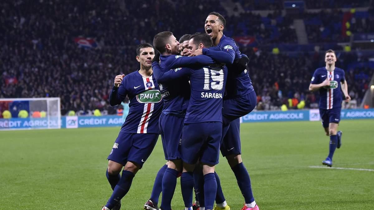 Ліон – ПСЖ – огляд, рахунок, відео голів матчу 04.03.2020