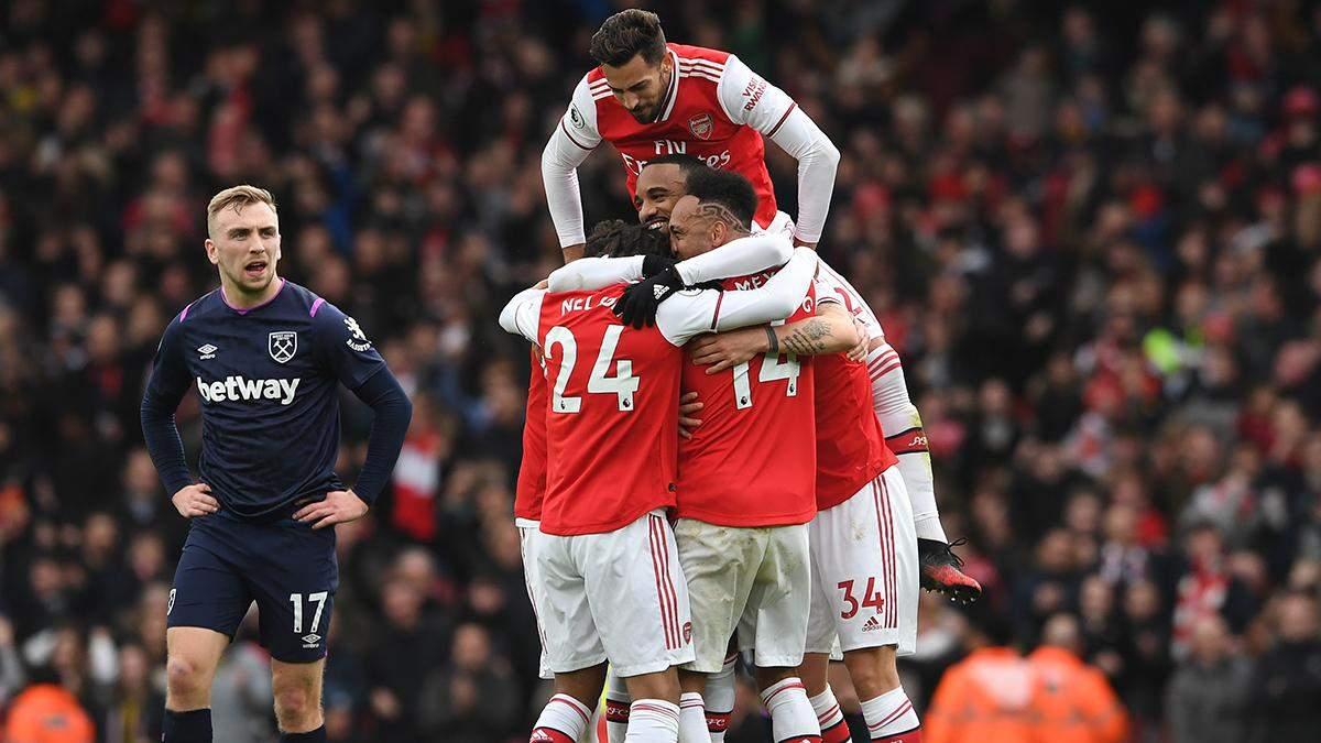 Вест Хэм – Арсенал: обзор, счет, видео голов матча 07.03.2020